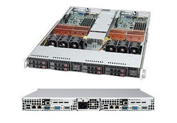 Supermicro SuperServer 6015TW-INFV Silver