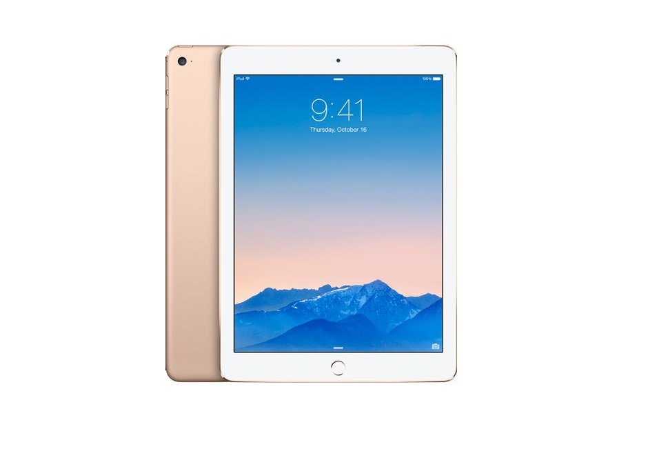 Планшет APPLE iPad Air 2 16GB Wi-Fi + Cellular Gold MH1C2RU/A
