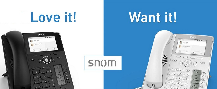 Snom - first in VoIP
