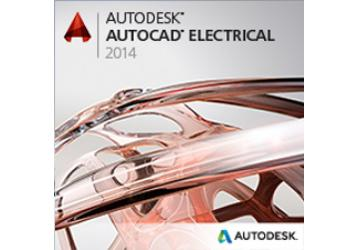 Autodesk AutoCAD Electrical 2014 Commercial New SLM