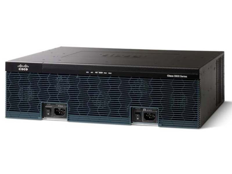 Маршрутизатор Cisco 3900 Series Voice Bundles C3945E-CME-SRST/K9